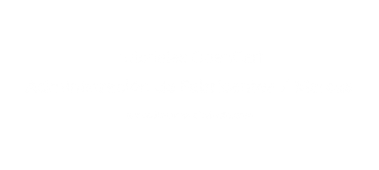 ¿How to administer manufacturers in OpenCart?