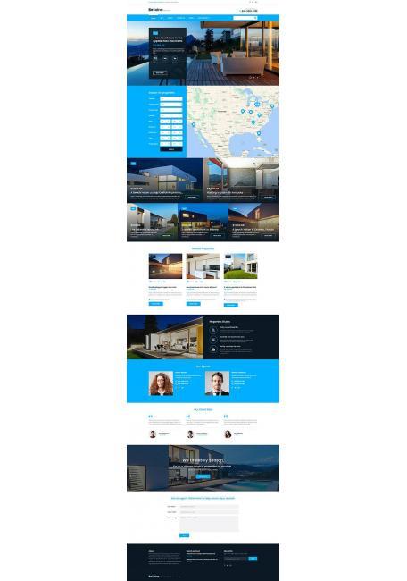 Bellaina Tema Wordpress para Inmobiliaria y Bienes Raices