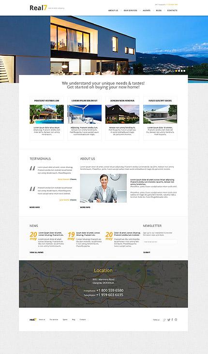 Real7 Tema Wordpress para Inmobiliaria y Bienes Raices