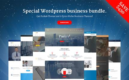 Parker Multipurpose WordPress Theme