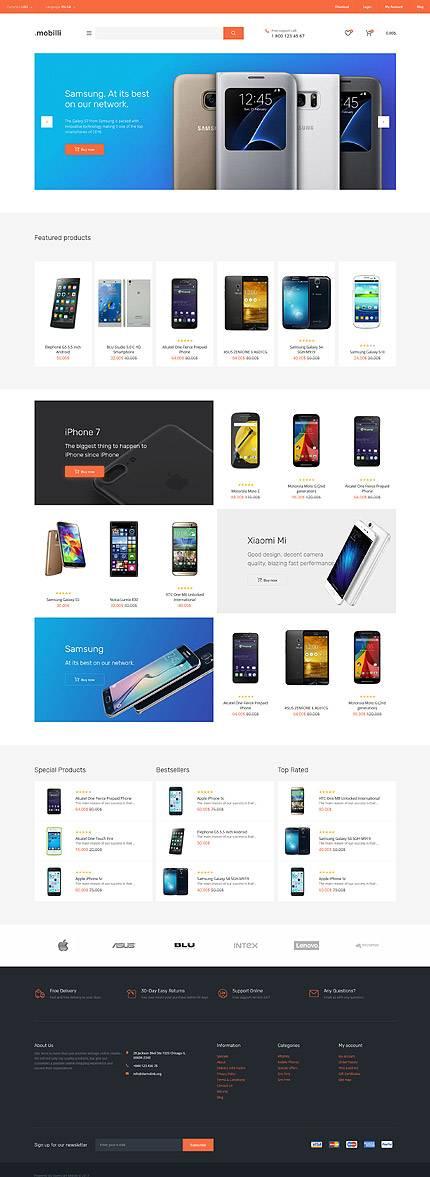 Mobilli Tienda de Móviles OpenCart